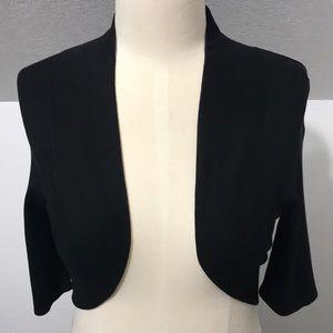 WHBM• Black Sweater Shrug• Sz. S
